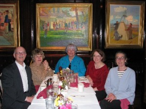 Retirement dinner at Old Ebbitt Grill